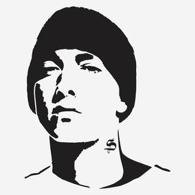 Kit 3x Adesivo Eminem Cantor Rap Hip Hop A301