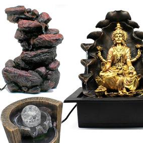 Fonte Cascata Agua Decorativa Grande Ganesha 23 Modelos