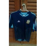 Camisa Oficial Da Argentina 2005 - Aceito Trocas.