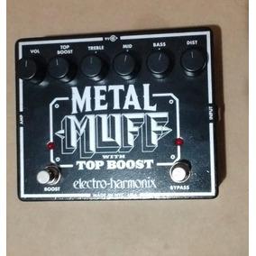 Pedal De Guitarra Metal Muff+top Boost By Electroharmonix