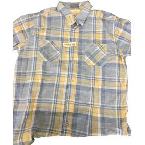 Camisa Marca Waterproof Tipo Vintage Para Hombre, Nueva.