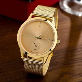 46681f9cbad Relogio Prema Luxo Dourado C Outras Marcas - Relógios De Pulso no ...