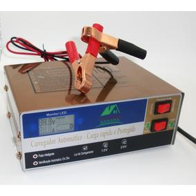 05 Carregador Bateria 10a Inteligente Digital 12/24v