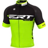 Camisa Ciclismo Ert Elite Racing Preto Verde Bike Slim Fit 0a1af7c275c9e