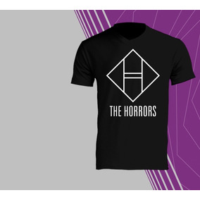 Playeras The Horrors Talla M - Playeras Manga Corta M en Mercado ... 8cb330b1c8bc0
