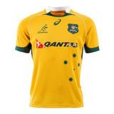 Camiseta Rugby Australia Asics Oficial Wallabies Importada