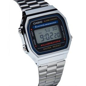 1f62ae89cf5 Relogio Casio Vintage A168wa Original - Relógios no Mercado Livre Brasil