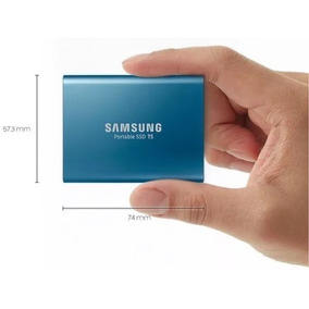 Hd Externo Portatil T5 Ssd Samsung 500gb - Novo