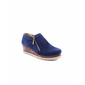 Zapato Plataforma Azul Marino Gösh 2273-ma