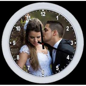 0044265aff1 Relogio De Parede Personalizado - Relógios De Parede no Mercado ...