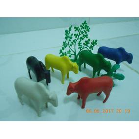 Bois No Pasto - Coleção My Farm - 09 Peças