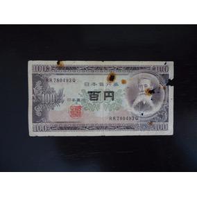 Nota Cédula 100 Yen Japão Mbc Estrangeira Antiga Rara
