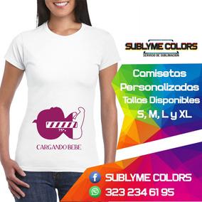 b8d35c626 Camiseta Embarazada - Camisetas en Mercado Libre Colombia