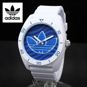 adidas Santiago De Silicone Azul Relógio Pulseira Adh3195