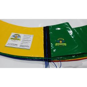 Kit Protetor De Molas Cama Elástica 3,05 + Rede + 8 Isotubos
