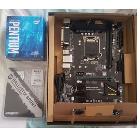 Intel G4600 7ma Generacion+placa H110 Gigabyte + 8 Ram Ddr4