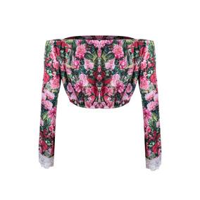 6c374b7613a Blusa Cropped Adidas Floral Tamanho P - Camisetas e Blusas para ...