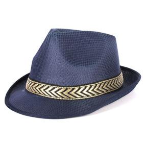 Chapeu Panama Fita Azul - Chapéus para Masculino no Mercado Livre Brasil 042ecfdbd38