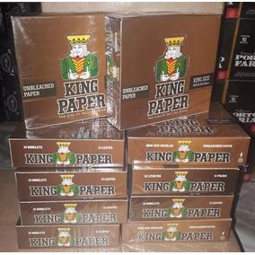 10 Caixas Aleda King Paper King Size Brown Original Promoção