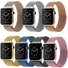Correa Extensible Acero Milanese Apple Watch 1 2 3 38 Y 42mm