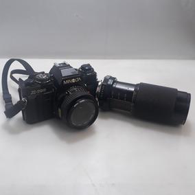 Câmera Antiga Analógica Minolta X-700 + Lente52mm