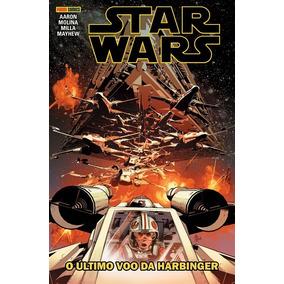 Hq Star Wars - O Último Voo De Harbinger (panini Comics)