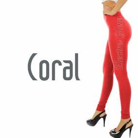 Leggins Jera Jeans Dama Termicos Afelpados Coral 10pzs