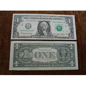 Nota De 1 Dolar Cedula One Dolares One Dollar Bill U$1,00