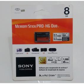 Memory Stick Pro-hg Duo Sony 8gb Cartão De Memória