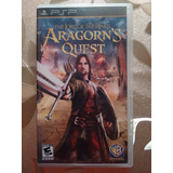 Videojuego The Lord Of The Rings Aragorn