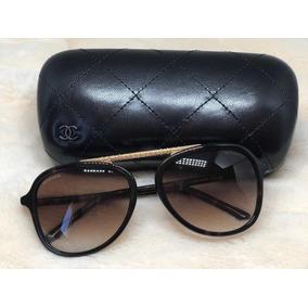 Oculos Chanel Marrom De Sol - Óculos no Mercado Livre Brasil 59af96c9b2