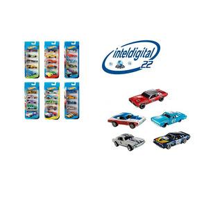 Set De Carritos Hotwheels Pack X 5 Carros Variados