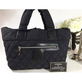 a7fbd47e86d Bolsa Preta Coco Chanel - Bolsas no Mercado Livre Brasil