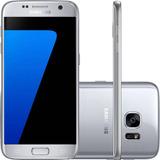 Smartphone Samsung Galaxy S7 32gb 4ga 12mp - Prata (vitrine)