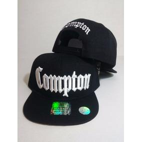 Gorra Compton California Snapback Unitalla Calidad Negra e3098afde12