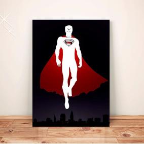 Pôster Super Homem C/frete Placa A3 Adesivo #pdv077a0