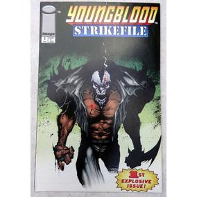 Youngblood Strikefile Nº 1 - Rob Liefeld - Jae Lee - 1993