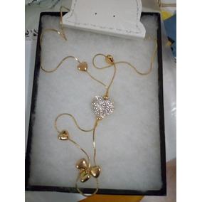 Collar De Corazon, Largo 14 De Febrero Excelente Regalo
