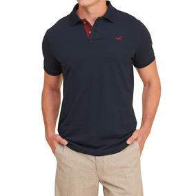 68ba74d0798b2 Camisa Polo Hollister Masculina Original - Tam M