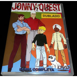 Dvd Jonny Quest - Série Animada Digital Completa ( 4 Dvds )