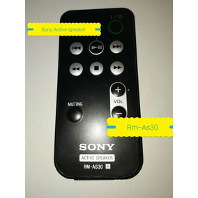 Controle Remoto Sony Rm-as30 Active Speaker Original