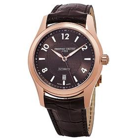 abb2b4b36f8 Relógio Frederique Constant Marrom rosé Automático Runabout. R  13.499