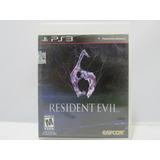 Resident Evil 6 - Ps3 ¡fisico-usado!