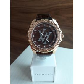 617b9f2c482 Relógio Victor Hugo Dourado Original - Relógios no Mercado Livre Brasil