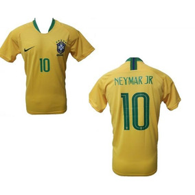 7eae280f8fa09 Camisa Nike Selecao Brasileira Replica - Camisetas Manga Curta no ...