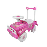 Carro Montable Para Niños Mytoy Jeep Rosa