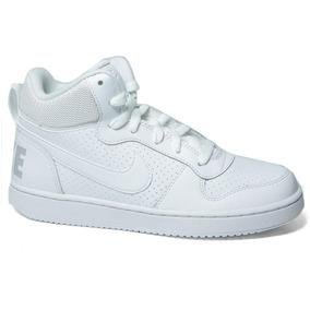 9e166a711a Tênis Cano Alto Nike Court Borough Mid Masculino - Calçados