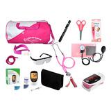Kit Enfermagem Super Luxo Diversas Cores Pink Premium