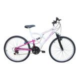 Bicicleta Aro 26 Full 18 Velocidades Free Action Fa240