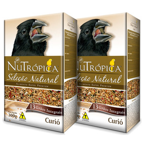 Ração Nutrópica Seleção Natural Curió 300g - 2 Caixinhas